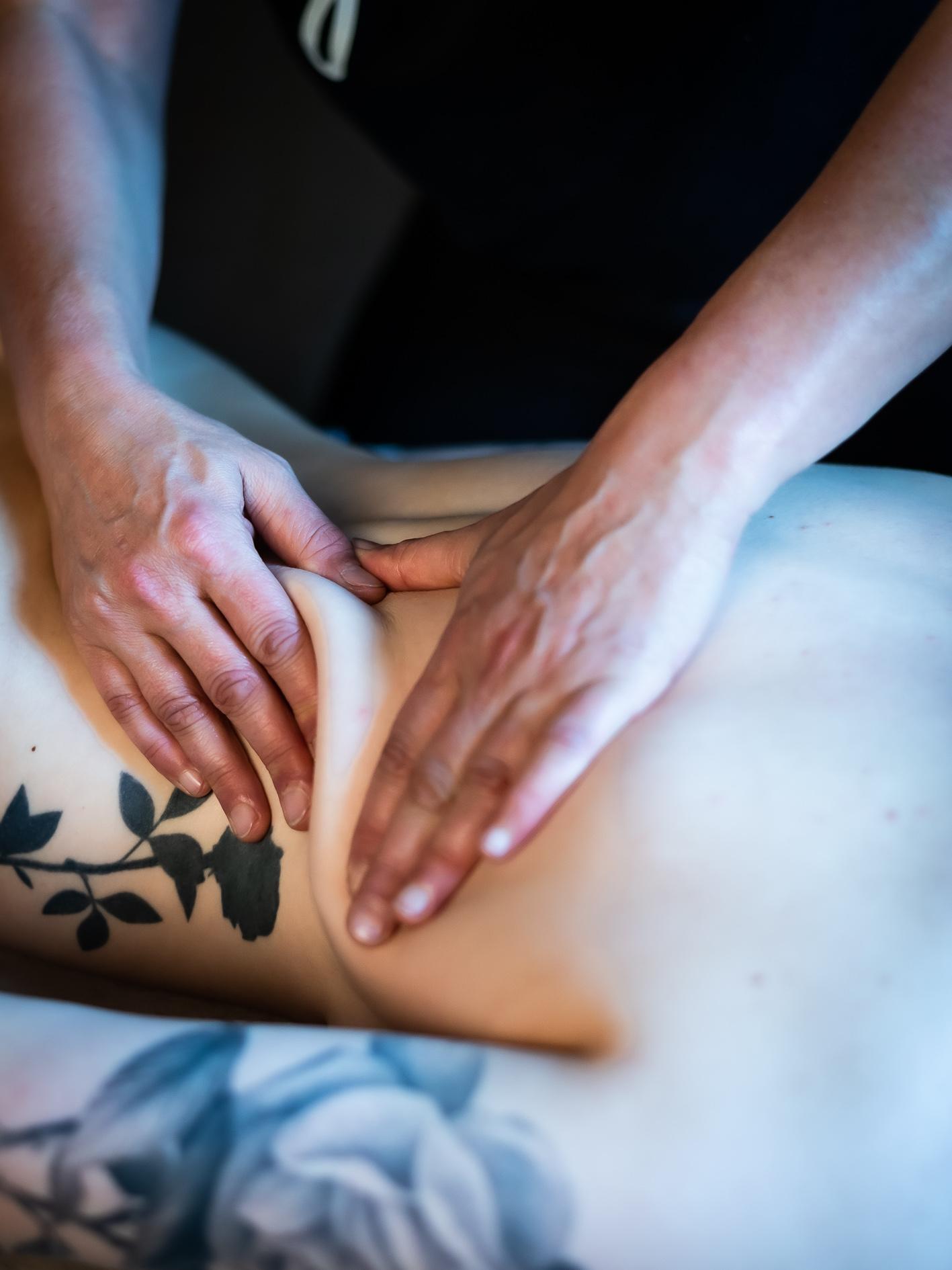 massage suedois détente stress vannes séné elven morbihan